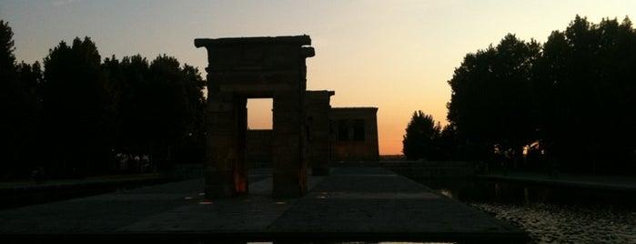 Templo de Debod is one of Que visitar en Madrid.