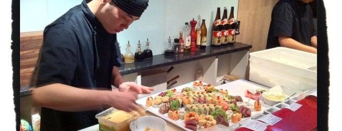 Fushin Sushi is one of South Africa.