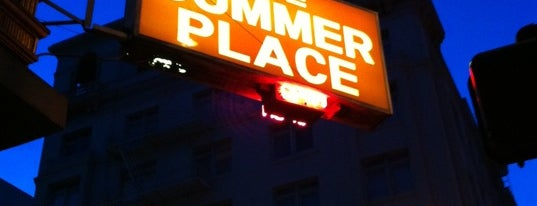 The Summer Place is one of SF Bars.
