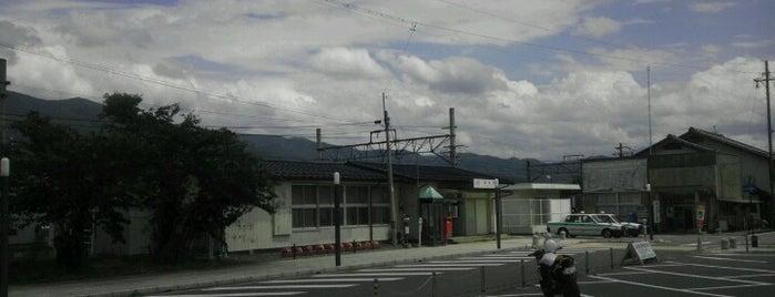飯島駅 is one of JR 고신에쓰지방역 (JR 甲信越地方の駅).