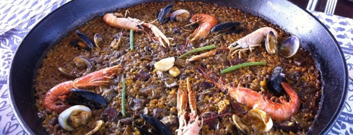 Xiringuito Escribà is one of Top Paella Restaurants in Barcelona.