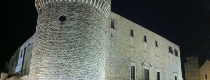 Castello di Conversano is one of Puglia Road trip.