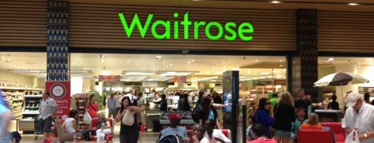 Waitrose & Partners is one of Tempat yang Disukai Paul.