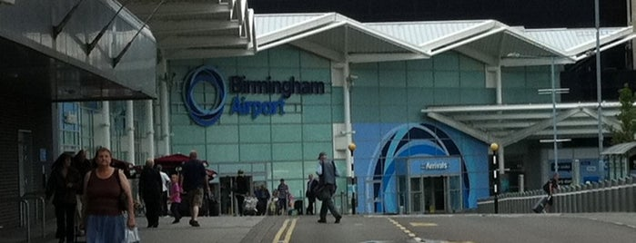 Aeroporto de Birmingham (BHX) is one of Airports in Europe, Africa and Middle East.