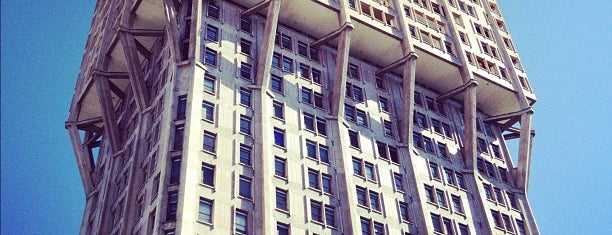 Torre Velasca is one of ZeroGuide • Milano.
