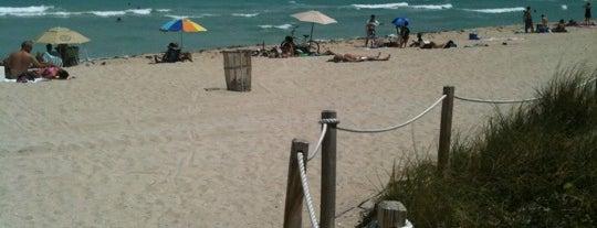 69th Street Beach is one of Miami Beach.