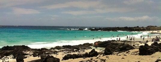 Kua Bay is one of Hawai'i 4th of July.
