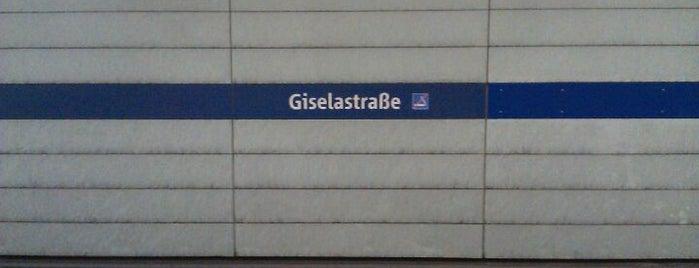 U Giselastraße is one of Posti salvati di Sevgi.