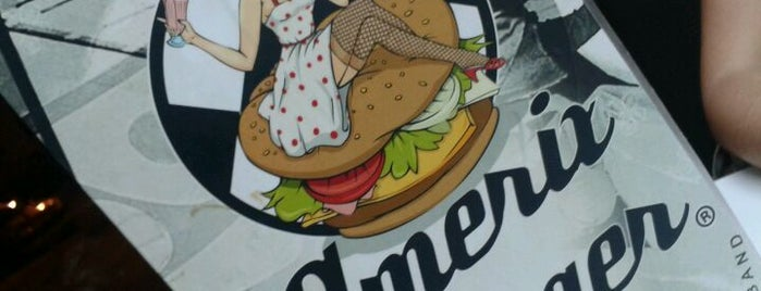 Amerix Burger is one of Monster fOOd.