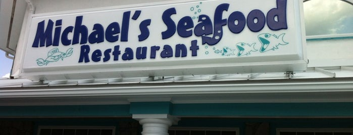 Michael's Seafood is one of American Travel Bucket List-The South.