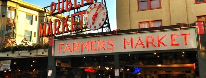 Pike Place Market is one of A Weekend Away in Seattle.