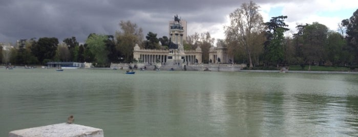 Estanque del Retiro is one of Madriz.