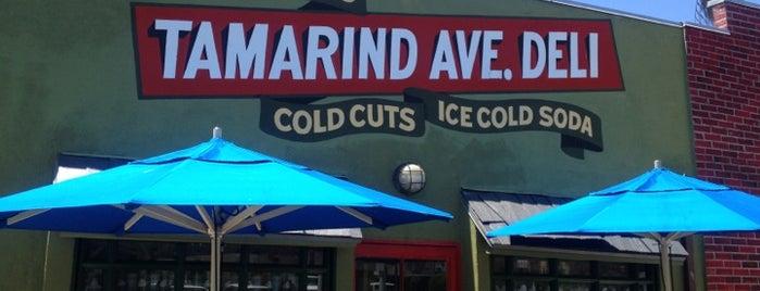 Tamarind Ave Deli is one of Locais curtidos por Brandon.