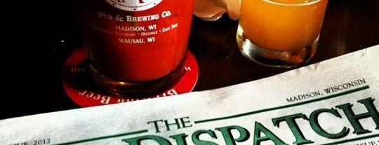 Great Dane Pub & Brewing Company is one of Krista'nın Kaydettiği Mekanlar.