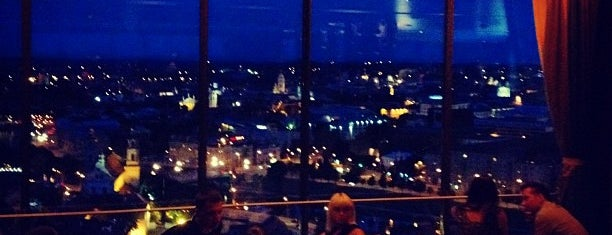 Skybar is one of Vilnius.