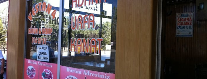 Vestan 4 Kebap&Dürüm is one of สถานที่ที่ Ömer ถูกใจ.