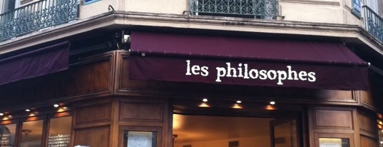 Les Philosophes is one of Paris with kids: sighseeing and dining.