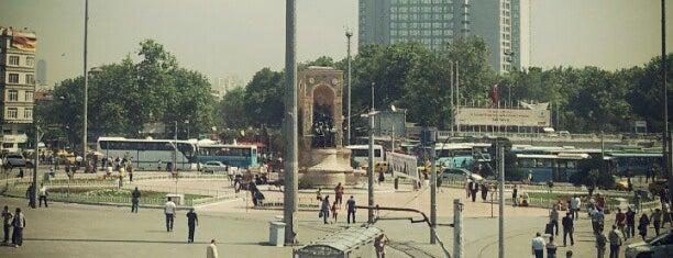 Taksim Meydanı is one of İstanbul'un Semtleri.