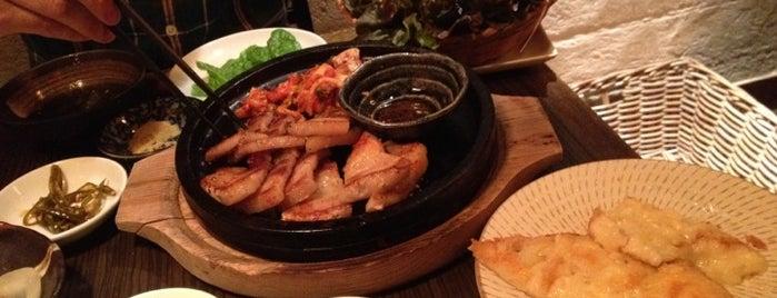 韓国家庭料理 オンジェナ is one of Ethnic Foods in Tokyo Area.