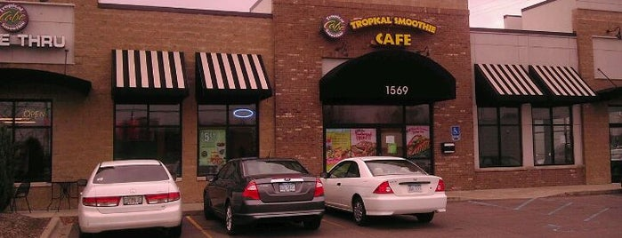 Tropical Smoothie Cafe is one of Troy-ish restaurants.