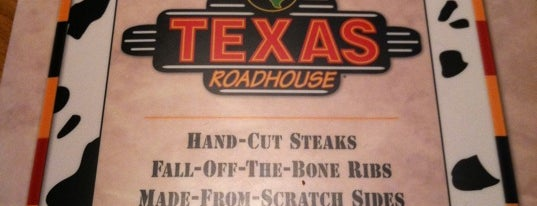 Texas Roadhouse is one of Locais curtidos por Tim.