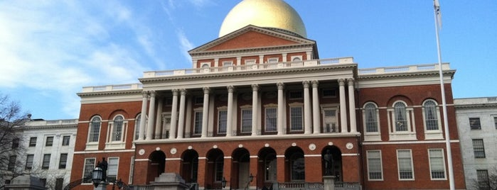 Massachusetts State House is one of Downtown Boston, Chinatown & North End.