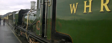 Rheilffordd Ucheldir Cymru (Welsh Highland Heritage Railway) is one of Attractions & Activities close by.