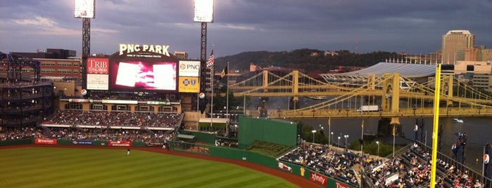 PNC Park is one of Major League Baseball Parks.