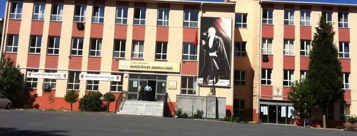 Bahcelievler Anadolu Lisesi is one of Orte, die ferhat gefallen.