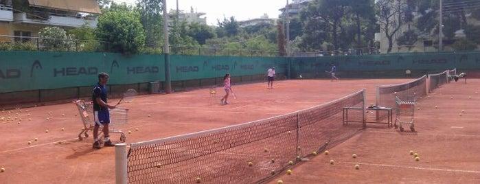 Πεύκη Tennis Club (Kalovelonis) is one of Ifigenia: сохраненные места.