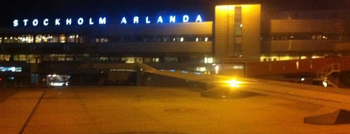 Aeropuerto de Estocolmo-Arlanda (ARN) is one of Airports - Europe.