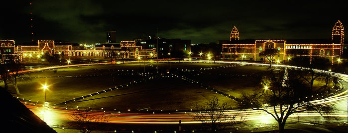 TTU- Carol of Lights is one of Red Raider Traditions.