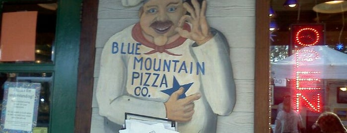 Blue Mountain Pizza is one of NC Craft Breweries.