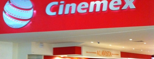 Cinemex is one of Tempat yang Disukai Ricardo.