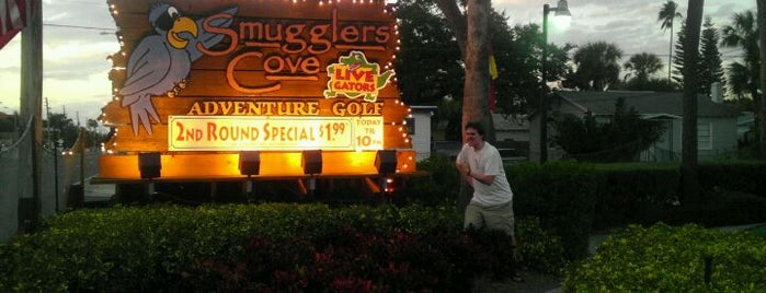 Smugglers Cove Adventure Golf is one of Austin.