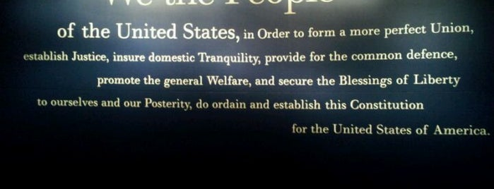 National Constitution Center is one of Badge of Brotherly Love #visitUS.