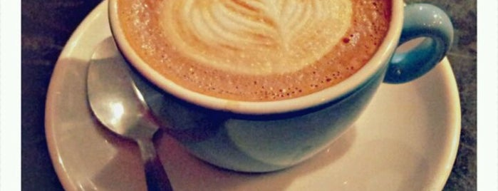 Flat White is one of Specialty Coffee Shops (London).