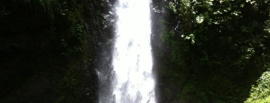 Les Cascades de Didier is one of Lieux de baignade en eau douce de Martinique.