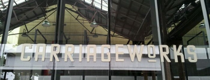 Carriageworks is one of Down under? I hardly know her!.