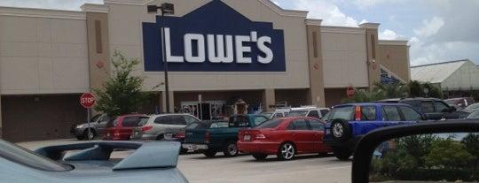 Lowe's is one of barbee 님이 좋아한 장소.