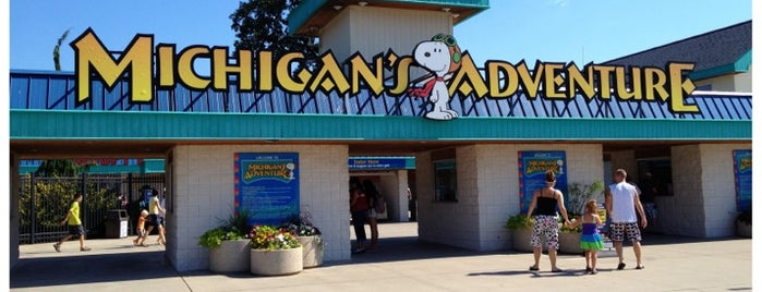Michigan's Adventure is one of Lugares favoritos de Cindy.