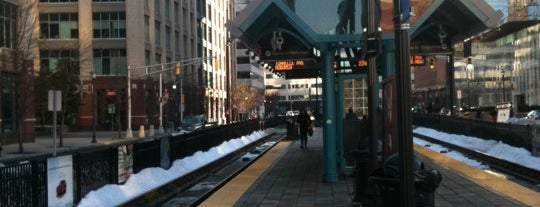 NJT - Harborside Light Rail Station is one of Arthur's Main list of things to do..
