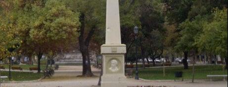 Monumento a los escritores de la independencia is one of Plazas, Monumentos y Piletas.