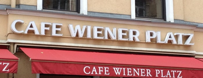 Café Wiener Platz is one of breakfast.
