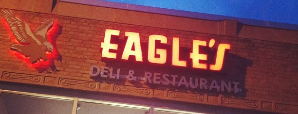 Eagle's Deli is one of Martin 님이 저장한 장소.