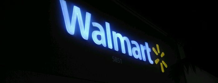 Walmart is one of Place in Miami to visit..
