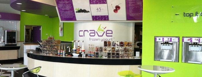 Crave Frozen Yogurt is one of Lisa'nın Beğendiği Mekanlar.
