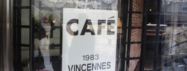 cafe vincennes duex is one of デート向け.