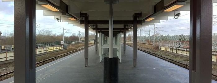 Metrostation Strandvliet is one of Amsterdam.
