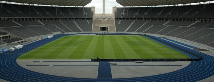 Olympiastadion is one of Soccer Stadiums.